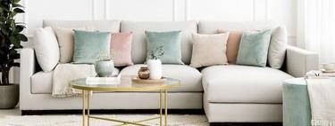 Plaids, mantas y cojines con los que renovar y actualizar el salón