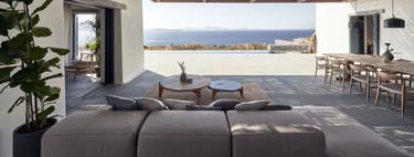 Puertas abiertas; un paseo por Villa Mandra una casa para disfrutar con amigos de la belleza y el paisaje de las islas griegas