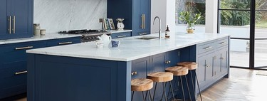 Kitchens: three trends in luxury decoration and three trends in low-cost decoration