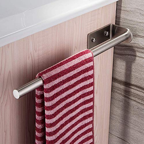 ZUNTO Towel Bar Bathroom Bar Stainless Steel Wall Mounted Towel Bar 40CM