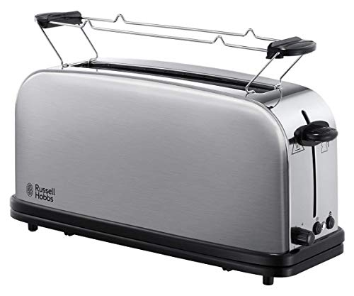 Russell Hobbs Adventure - Toaster (Long and Wide Slot, for 2 Slices, Stainless Steel) ref. 21396-56