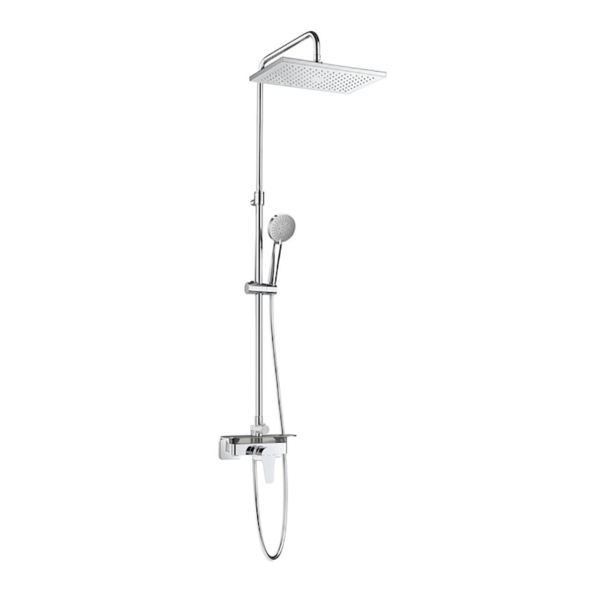 Even Roca shower set with mixer