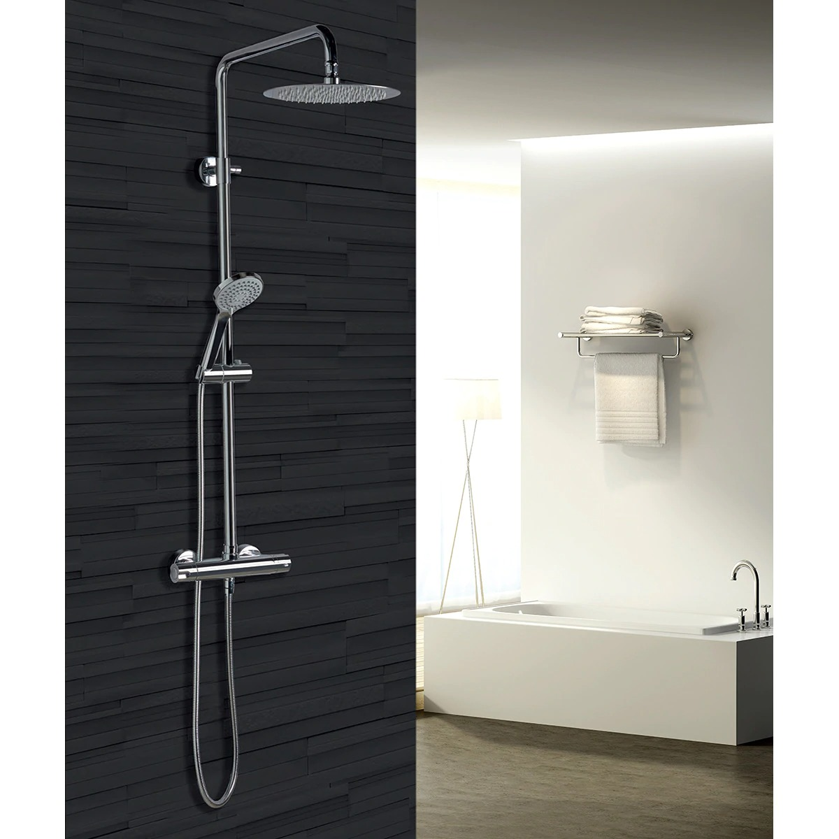 Bled Imex thermostatic shower set