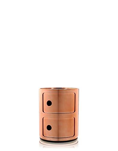 Kartell Componibile Component Elements, Orange, 32 x 40 x 33 cm