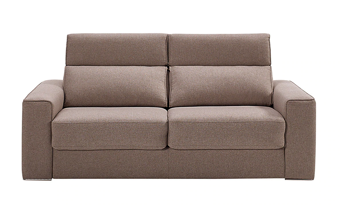 Upholstered two-seater sofa