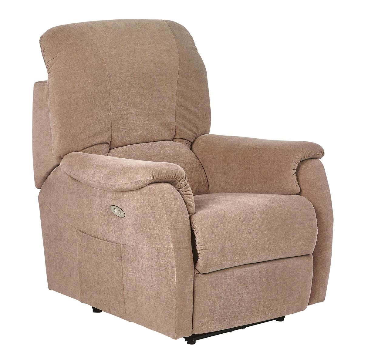 Upholstered electric relax armchair