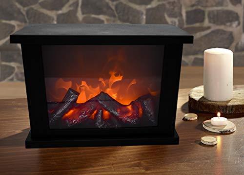 technoline T9800 - Decorative LED fireplace (29 x 11 x 19 cm)
