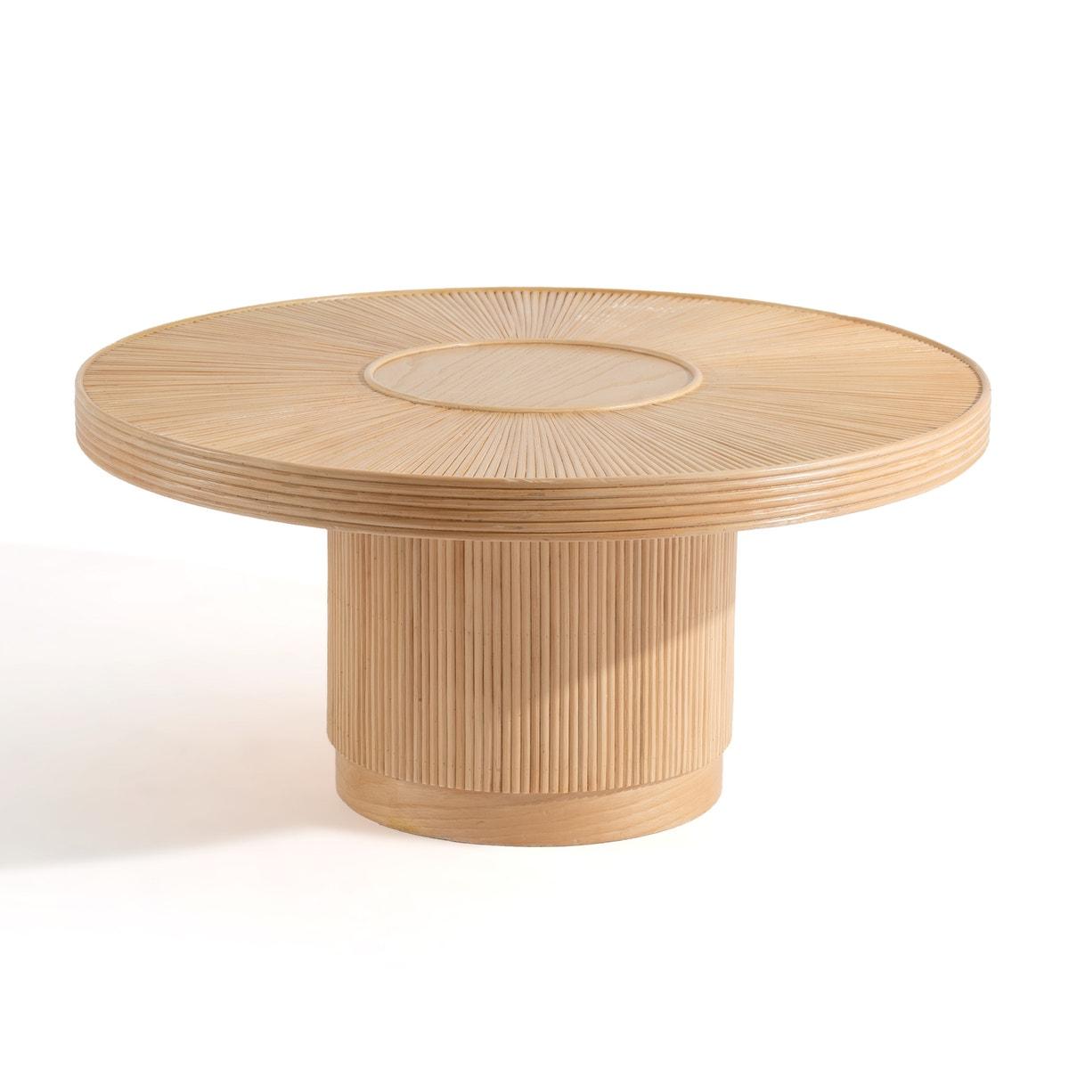 Low table made of rattan cane ø81.5 cm Khaï