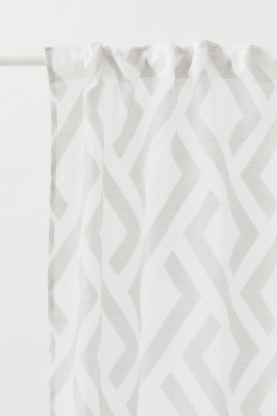 Pack of 2 multiway curtains