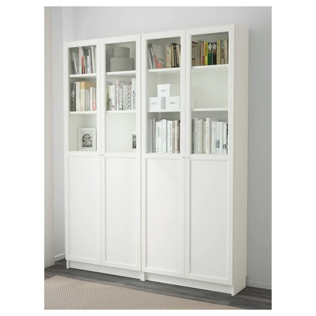 Billy Oxberg Bookcase White 0451976 Pe600866 S5