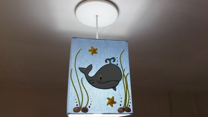 children's handmade chandelier
