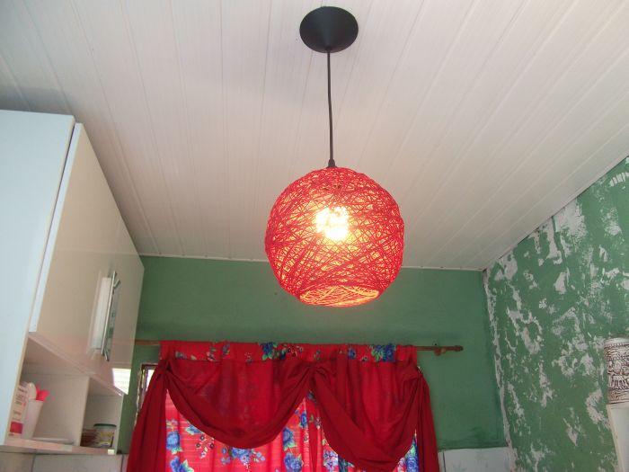 handmade line chandelier