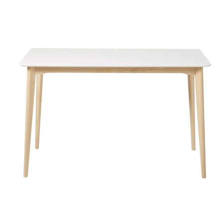 White Solid Beech Professional Desk 1000 1 35 188225 1