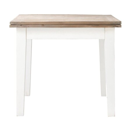 Extendable Dining Table For 4 To 8 People L 90 180 1000 0 36 131 359 2