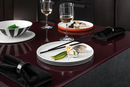 Stackable tableware