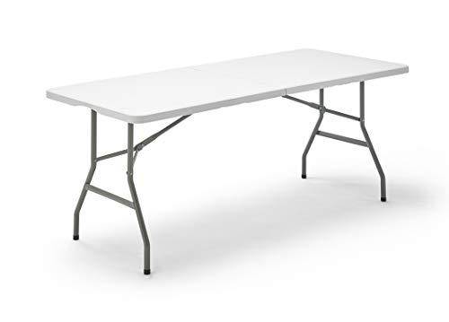 KitGarden Folding 180 - Folding Table, White, 180x74x74 cm