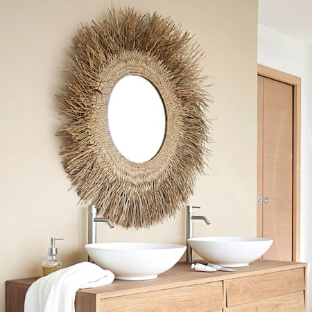 Vegetable Fiber Mirror D 92 1000 8 21 191 122 4