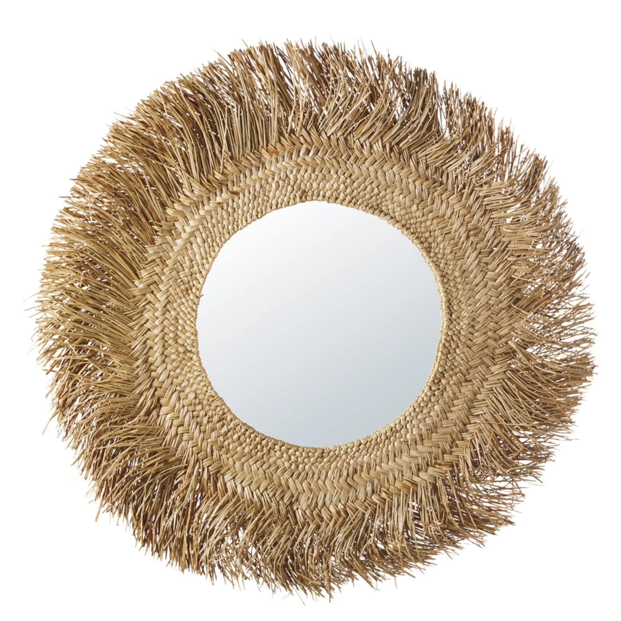 KINSHASA Vegetable fiber mirror D.92