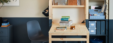 Ivar, the perfect Ikea storage module for practicing your hobbies or teleworking
