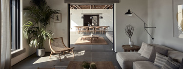 Trends for the living room;  in search of a warm and enveloping decoration that makes us feel good
