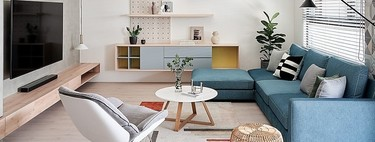 Practical tips for designing the living room;  When to place a chaise longue sofa in the living room and when not to do it