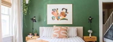 Before and after: painting, furniture, order and textiles for a completely renovated bedroom