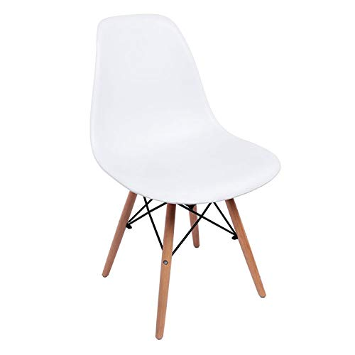 Miguel Gifts - Dining Chairs - Tower Basic Chair - White - Shipping From Spain
