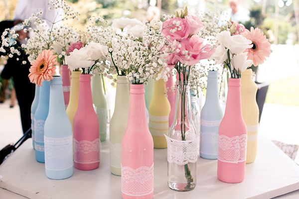 Decorative bottles for engagement