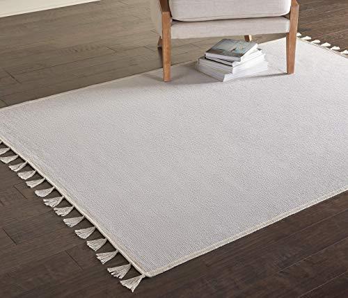 Amazon Brand - Movian Iskar, Rectangular Rug, 129.5 L x 26 W (Plain Pattern)
