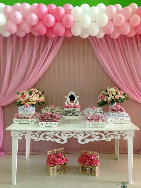 simple decoration for ballerina party