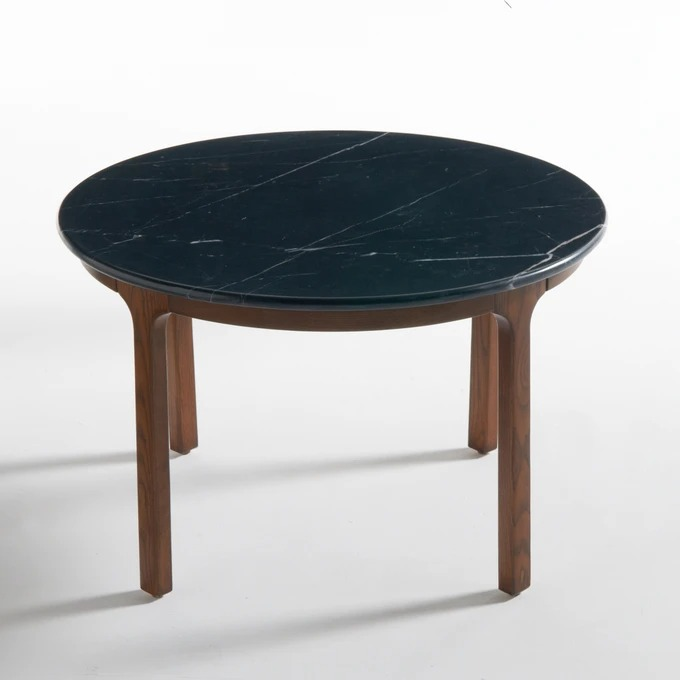 Low table and Botello black marble top