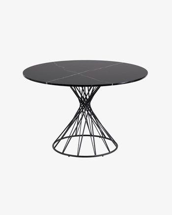 Niut table Ø 120 cm in marble