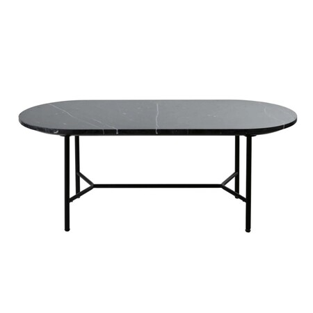 Oval Black Marble Low Table 1000 4 7 198734 1