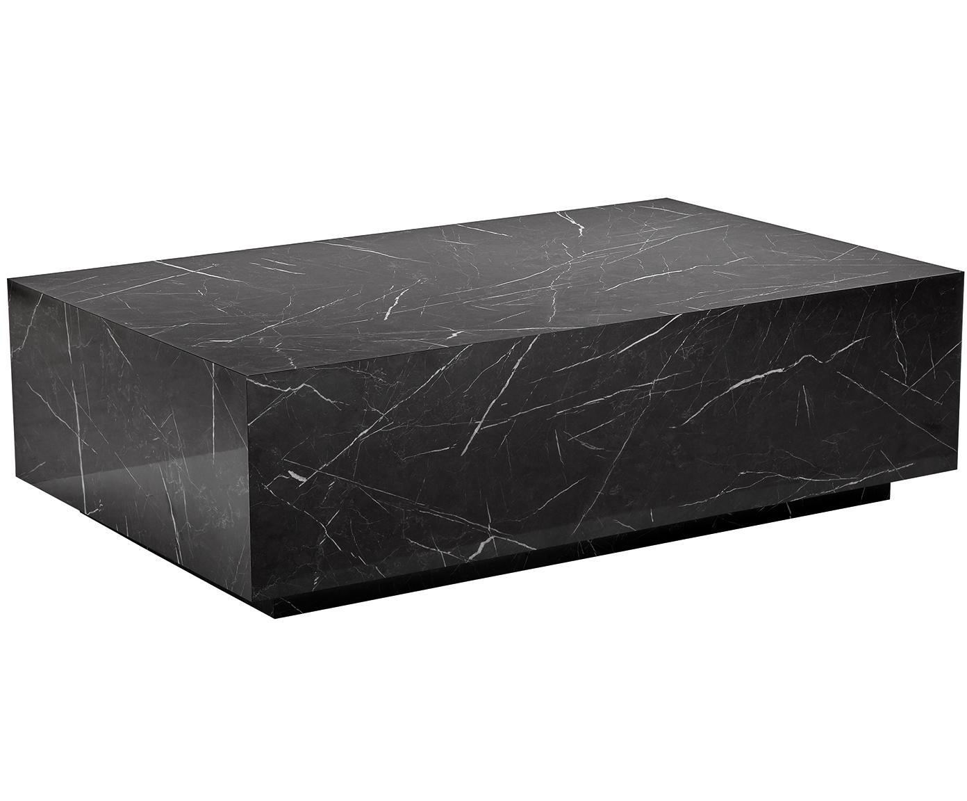 Lesley marble look coffee table
