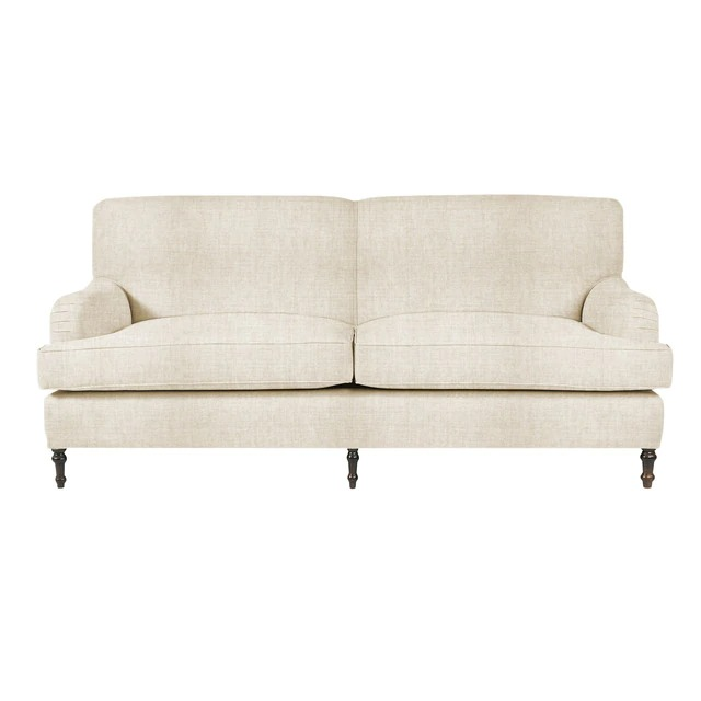 Upholstered 3-seater sofa Ascot Corte Inglés