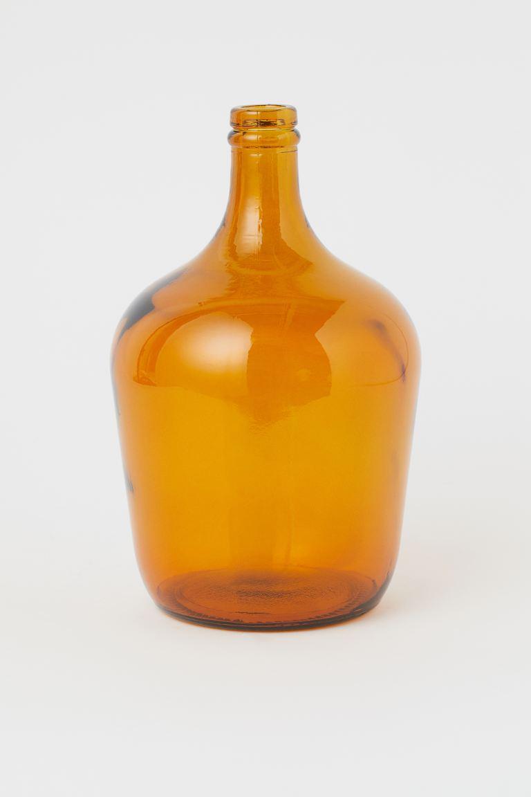 Glass bottle vase € 24.99