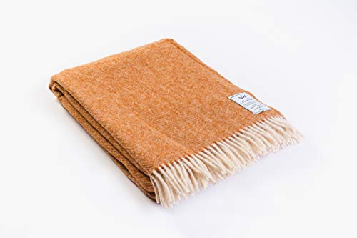 Sale.  Lightweight merino sheep wool 100% wool blanket, size: 160 x 200 cm