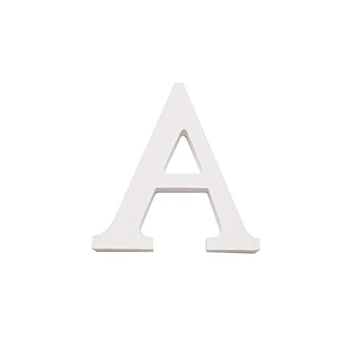 Infinite art - Wooden letters and numbers alphabet for decoration 15 cm (A)