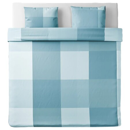 Brunkrissla Duvet Cover 2 Light Blue Pillowcases 0811117 Pe772154 S5