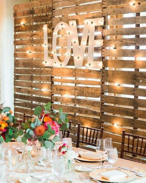 Romantic Engagement Decoration