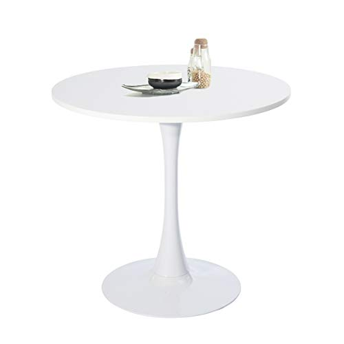 FURNITURE-R France - Design round wooden dining table, 80 x 75 cm