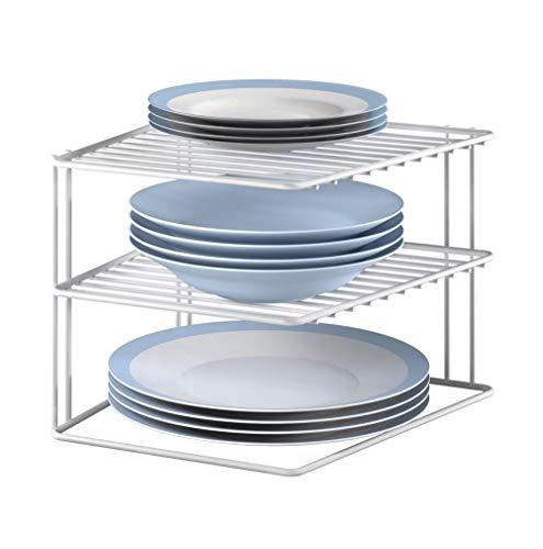 Metaltex Corner, Silver, White, 3 Levels