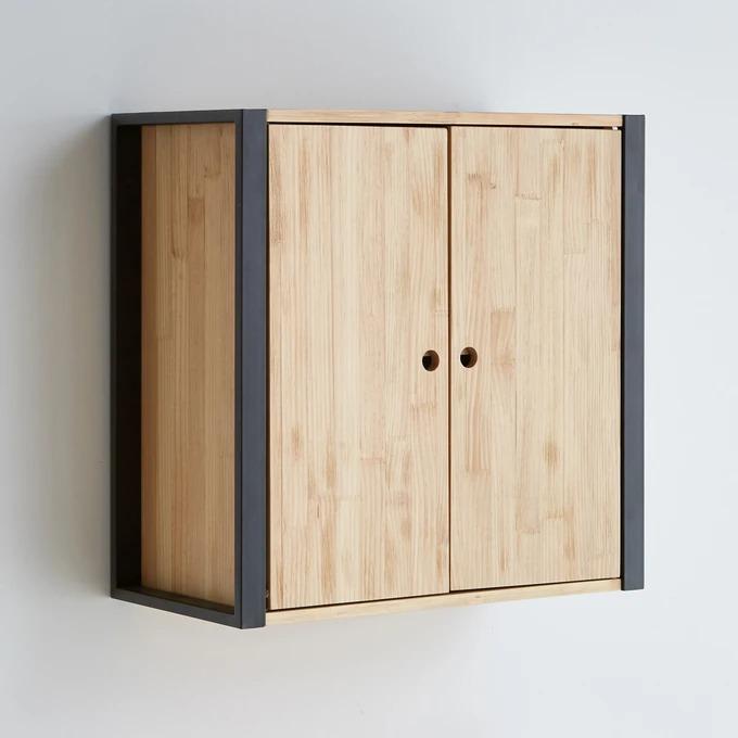 Tall cabinet for bathroom, Hiba