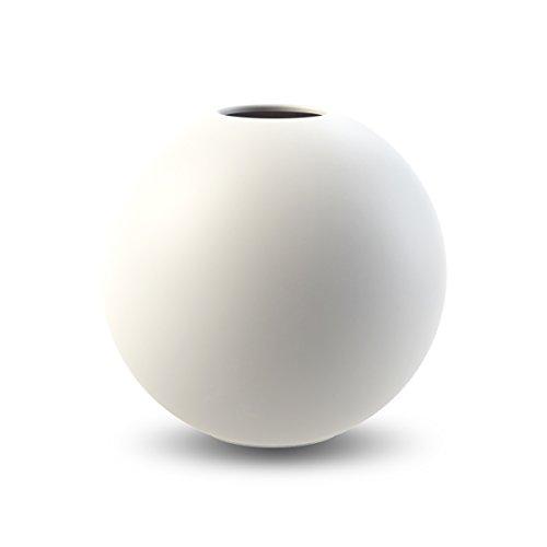 Cooee Design Ball - Vase (ceramic, 10 cm), White