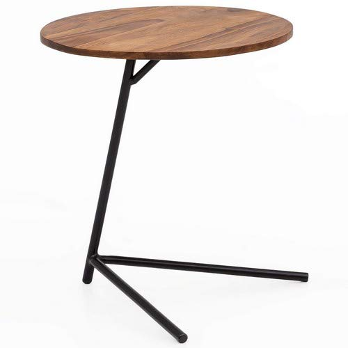 Wohnling WL5.657 Side Table, brown, 40 x 46 x 40 cm
