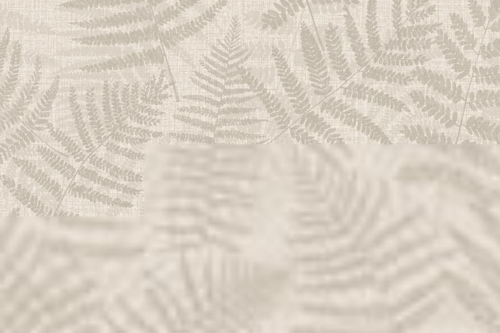 Wallpaper Leaves beige 5.3 m²