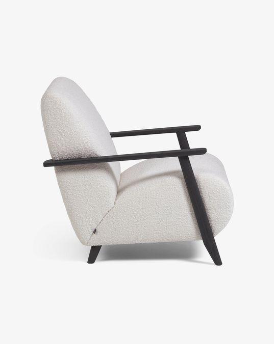 Meghan white sheep armchair € 469