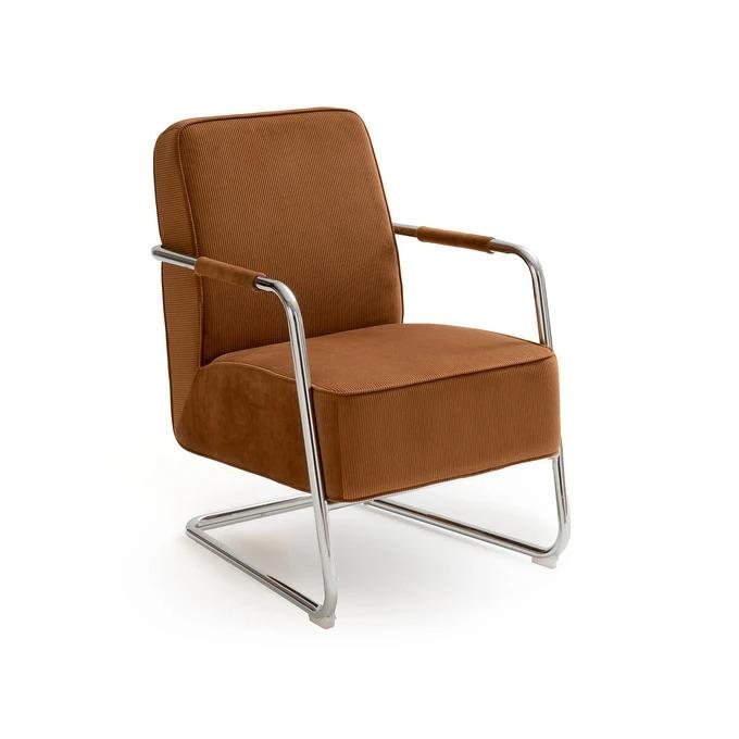 Vintage corduroy armchair Balane price before