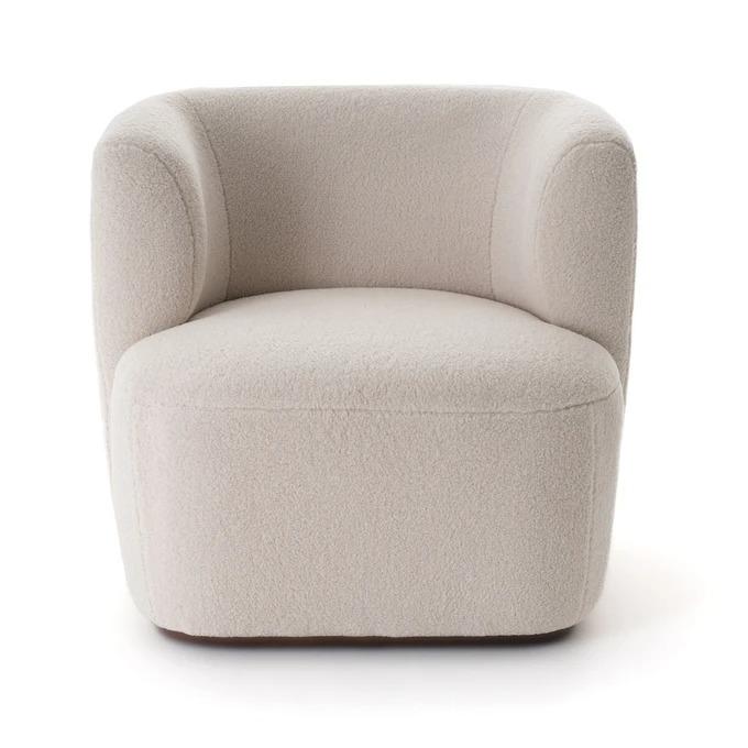 Nidou curly armchair