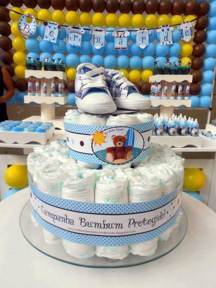 diaper cake decorations